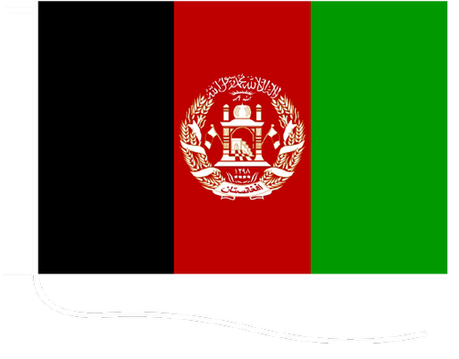 Afghanistan - Motorcycle flag with strig | buyflags eu