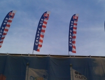 Beachflags na streche