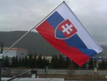 Vlajka na tyči s otočným ramenom