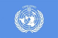 Vlajka Svetovej meteorologickej organizácie