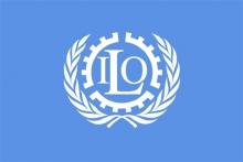 Vlajka Medzinárodnej organizácie práce