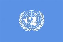 Vlajka organizácie spojených národov