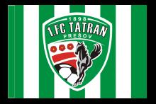 1. FC Tatran Prešov športová vlajka s tunelom