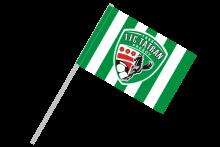 1. FC Tatran Prešov športová vlajka s plastovou tyčkou