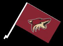 Arizona Coyotes športová autovlajka