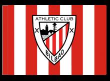 Athletic Bilbao športová vlajka s tunelom