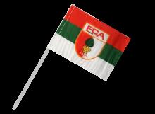 Augsburg športová vlajka s plastovou tyčou
