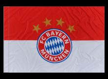 Bayern Mníchov športová vlajka s tunelom
