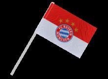 Bayern Mníchov športová vlajka s plastovou tyčou