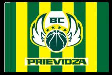 BC Prievidza športová vlajka s tunelom