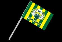 BC Prievidza športová vlajka s plastovou tyčou