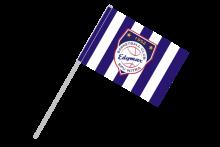 BK EDYMAX SPU Nitra športová vlajka s plastovou tyčou