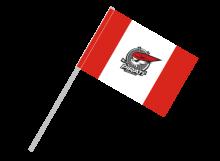 Chomutov športová vlajka s plastovou tyčou