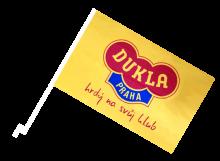 Dukla Praha športová autovlajka