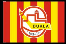 Dukla Trenčín športová vlajka s tunelom