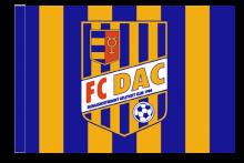 DAC Dunajská Streda športová vlajka s tunelom