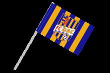 DAC Dunajská Streda športová vlajka s plastovou tyčkou