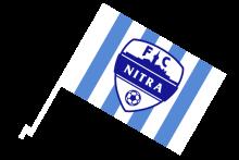 FC Nitra športová autovlajka