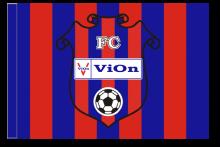 FC Vion Zlaté Moravce športová vlajka s tunelom