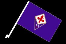 Fiorentina športová autovlajka