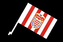 FK Dukla Banská Bystrica športová autovlajka