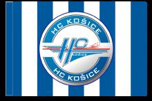 HC Košice športová vlajka s tunelom