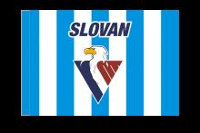 HC Slovan Bratislava športová vlajka s tunelom