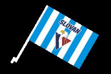 HC Slovan Bratislava športová autovlajka