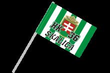 HK 36 Skalica športová vlajka na plastovej tyčke