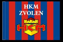HKM Zvolen športová vlajka s tunelom