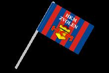 HKM Zvolen športová vlajka s plastovou tyčkou