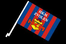 HKM Zvolen športová autovlajka