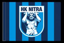 HK Nitra športová vlajka s tunelom