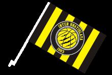 Inter Bratislava športová autovlajka