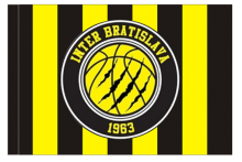 Inter Bratislava športová vlajka s tunelom