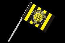 Inter Bratislava športová vlajka s plastovou tyčou