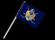 Kladno športová vlajka s plastovou tyčou
