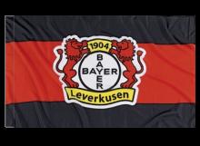 Leverkusen športová vlajka s tunelom