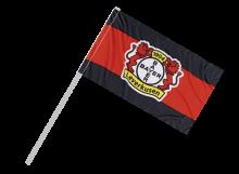 Leverkusen športová vlajka s plastovou tyčou
