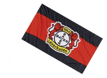 Leverkusen športová autovlajka