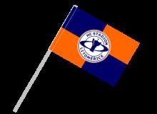 Litoměřice športová vlajka s plastovou tyčou