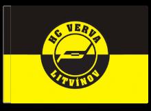 Litvínov športová vlajka s tunelom