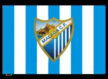 Malaga športová vlajka s tunelom