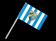 Malaga športová vlajka s plastovou tyčou
