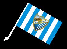 Malaga športová autovlajka