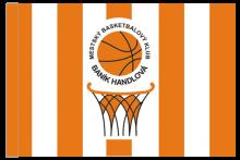 MBK Baník Handlová športová vlajka s tunelom