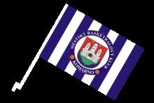 MBK Komárno športová autovlajka