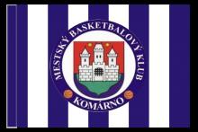 MBK Komárno športová vlajka s tunelom