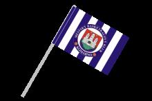 MBK Komárno športová vlajka s plastovou tyčou