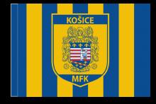 MFK Košice športová vlajka s tunelom
